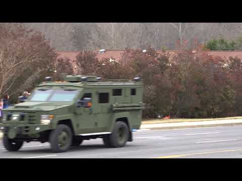 Detective Mike Doty York County SC Sherriff Office Funeral procession and Last Call
