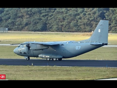 C27 Spartan, LITHUANIA A.F., Departure at Eindhoven