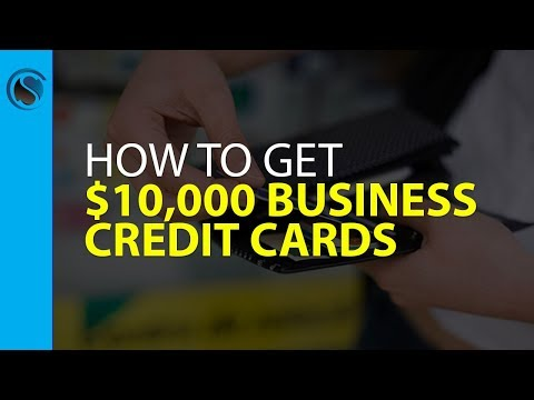 How to Get $10,000 Business Credit Cards Without  Personal Guarantee