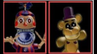 Roblox:Afton's Family Diner [Early Access] Nightmare Ballon Boy y Psychic Fredbear Plush
