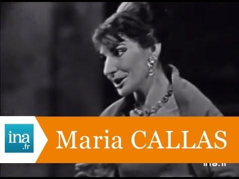 """Maria Callas """"Una voce poco fa, air de Rosine"""" (live officiel) - Archive INA"""