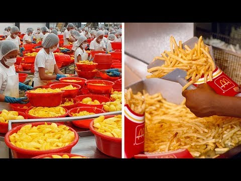 Amazing Processing Machines 2018 - How It's Made Snack In Side Factory