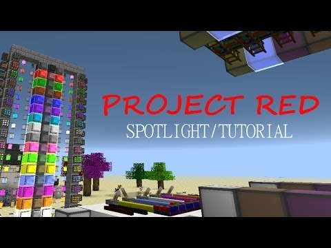 Minecraft Spotlight Project Red 1 6 4 Mod Showcase Tutorial