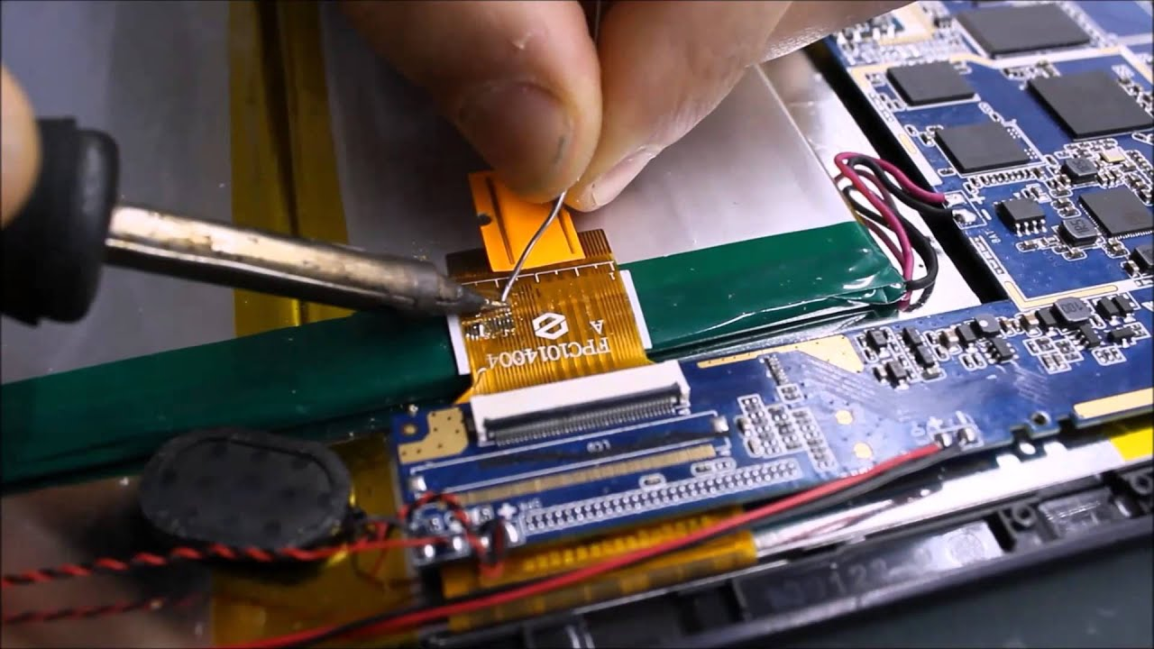 Tablet Flex Tamiri Onarımı How To Repair Flex Cable