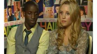 Amanda Bynes and Elijah Kelley talk Hairspray