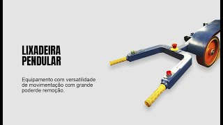 Esmeril Pendular de Lixa - REBEL