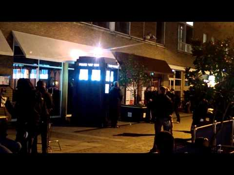 Doctor Who Filming Series 8 - Cardiff Bay