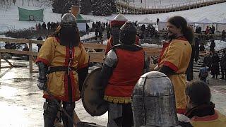 Рыцарские Бои на Масленицу 2018, около Киево-Печерской Лавры, Киев