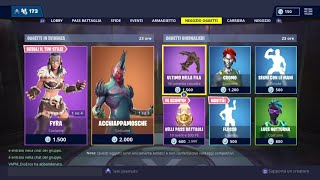 FORTNITE SHOP 19 JENNAIO - FLOW, ACCHIAPPAMOSCHE, FYRA, JAEGER, LAST OF THE FILA AND MORE