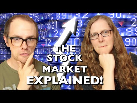How the Stock Market Works… EXPLAINED!