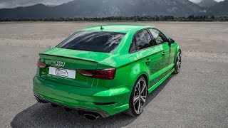 CRAZIEST color on the 2018 AUDI RS3 SEDAN? (400hp/480NM,5Cyl) - Viper green metallic, Black op
