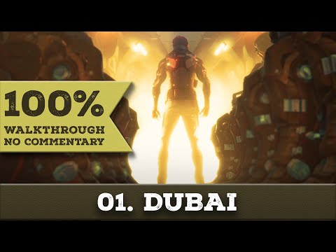 Deus Ex: Mankind Divided Walkthrough (Pacifist,All Collectibles) part 1 DUBAI