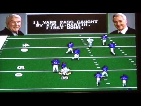 Zolak vs. Kelly, Bills in Madden 96 for Sega Genesis - Week 6