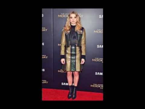 Natalie Dormer Shows off Her Leather Boots and Skirt
