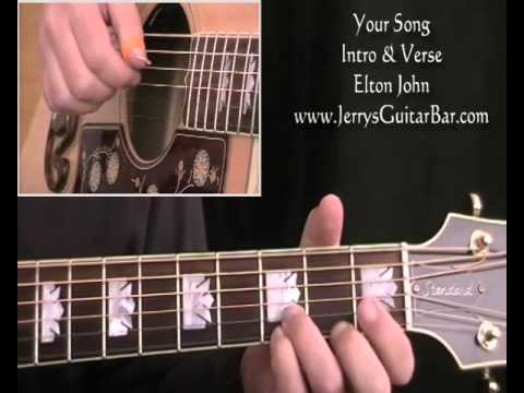 How To Play Elton John Your Song (preview only)