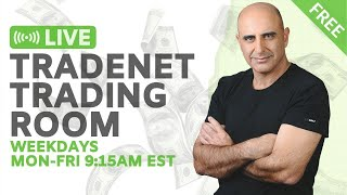 Live Tradenet Day Trading Room - 06/03/2020 - Hopes Of A Quick Recovery
