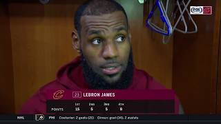 LeBron James full interview after Cleveland's victory over Magic l CAVS-MAGIC POSTGAME