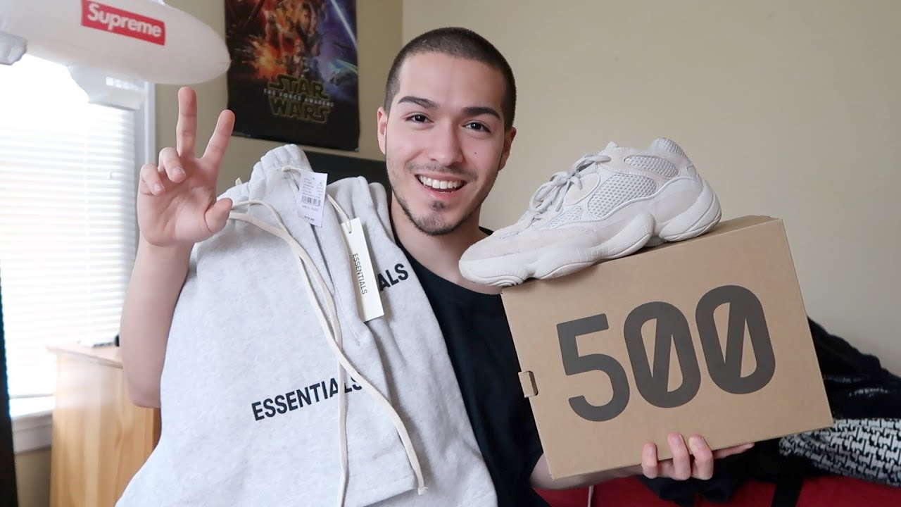 3cfdfe45 FOG *ESSENTIALS* REVIEW & SIZING + YEEZYS. Shiloh Moore