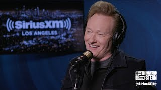 Howard Stern Names Conan O'Brien His Best Interview of All Time