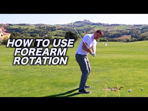 Happy Fathers day!! - Forearm Rotation Golf Tip