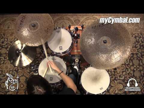 "Istanbul Agop 18"" Turk Crash Cymbal - 1404g (TC18-1021116M)"