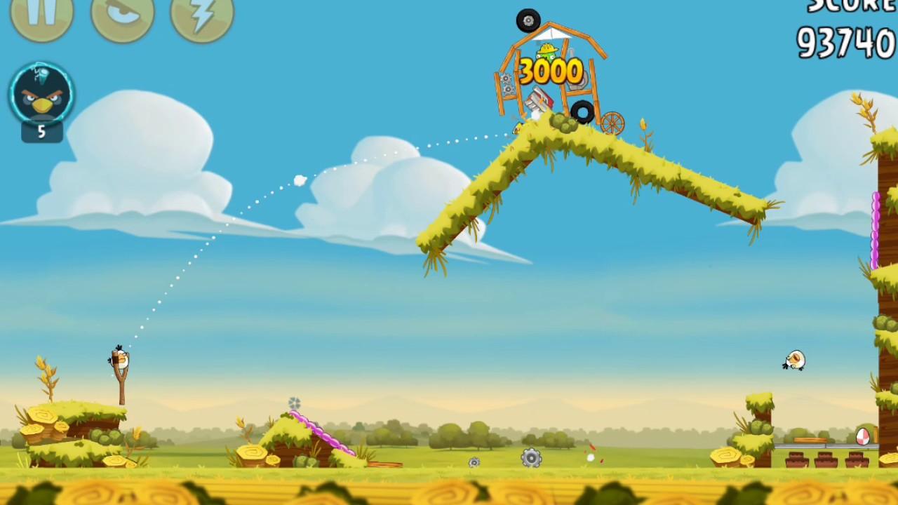 Angry birds piggy farm level 33 11 three star walkthrough - Angry birds trio ...