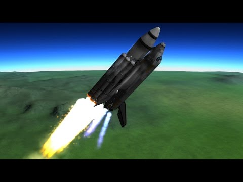 KSP - Space Shuttle STS Concept Replica - YouTube