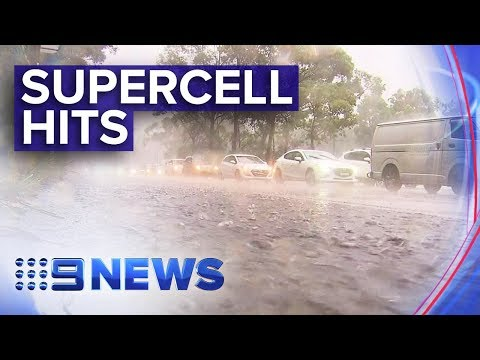 Torrential Rain Sweeps NSW East Coast | Nine News Australia