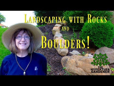 landscaping-with-rocks---we-bought-boulders!