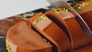 Chocolate Mousse Cake: Food ASMR From Tastemade Japan