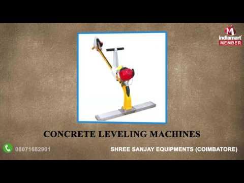 Construction & Lifting Equipment By Shree Sanjay Equipments, Coimbatore