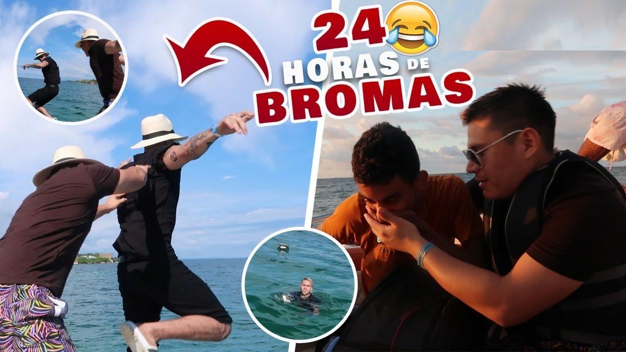 Bromas Pesadas A Mis Amigos Juan Se Enojó El Super Trucha Youtube
