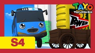 Tayo S4 E6-10 l Tayo becomes a police officer & more l An engine oil? l Tayo the Little Bus