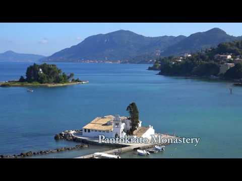 TOP 10 Tourist Attractions in Santorini;Corfu and Mykonos-Greece Islands