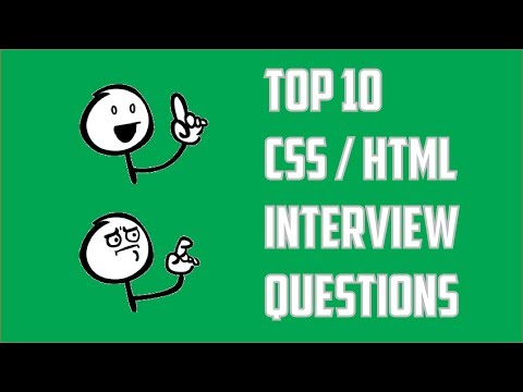 Top 10 css interview questions and answers