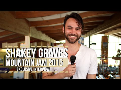 Mountain Jam 2015: Shakey Graves on Americana Music Awards