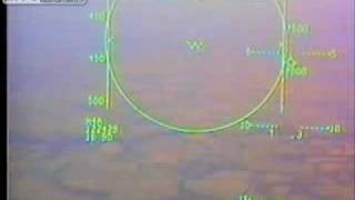 F15 inflight fire landing and ejection