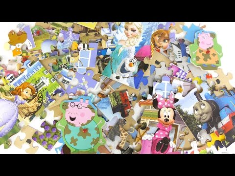 NEW! NEW! Lot Of Puzzles
