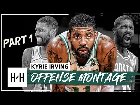 Kyrie Irving EPIC Montage, Offense Highlights 2017-2018 (Part 1) - CRAZY Handles, Celtics Debut!