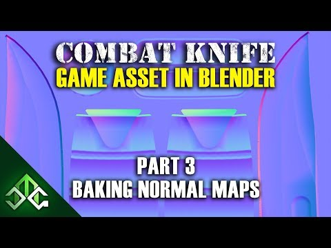 Creating a Combat Knife Game Asset in Blender