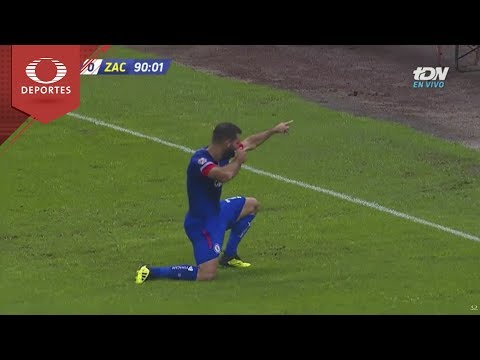 Gol de Cauteruccio   Cruz Azul 2 - 0 Zacatepec   Copa Mx J-4   Televisa Deportes