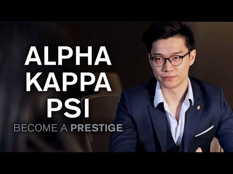 Alpha Kappa Psi: Become a Prestige