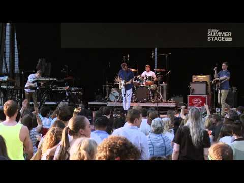 Django Django | 2013 SummerStage Concert Series [FULL SHOW]