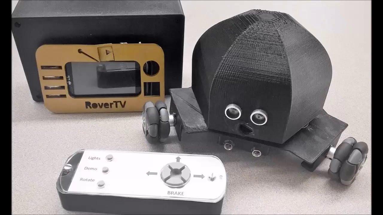 Arduino Omni Wheel Robot Rover - MAKE Course : 7 Steps