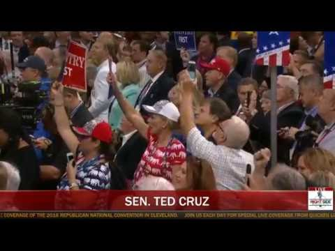 Ted Cruz BOOED by RNC Crowd After REFUSING to Endorse Donald Trump!