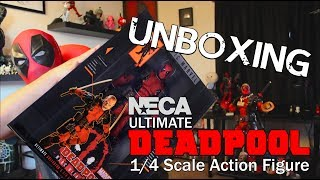 D-Piddy Unboxing & Review - NECA Ultimate Deadpool Action Figure Toy
