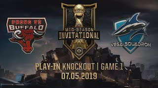 PVB vs VEG [MSI 2019][07.05.2019][Play-in Knockout][Game 1]