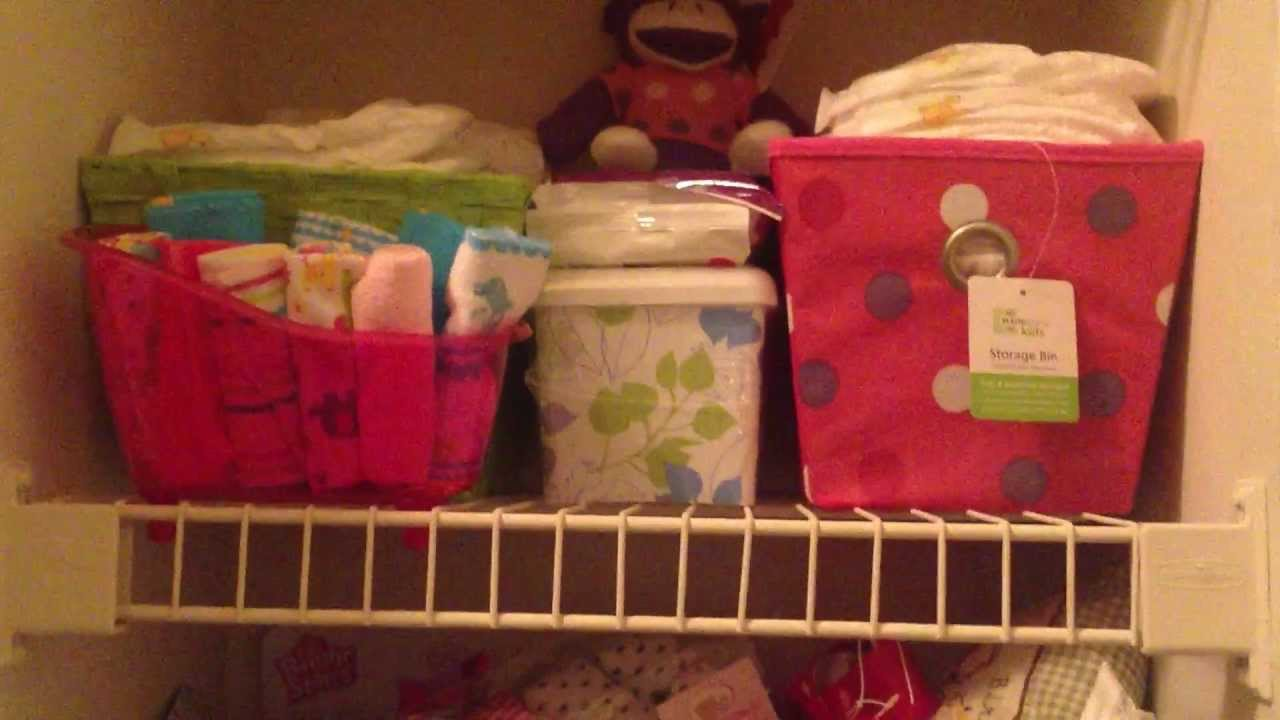 Preparing For Baby How I Store Organize Some Of Baby Girl S