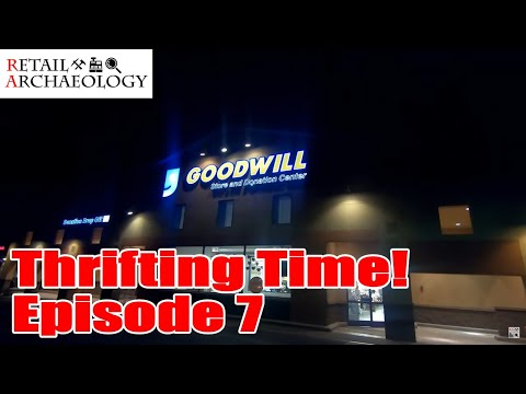 Thrifting Time! Ep. 7: Night Thrifting! | Retail Archaeology