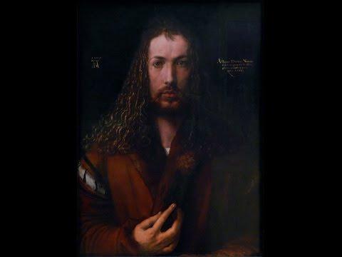Dürer, Self-portrait (1500)